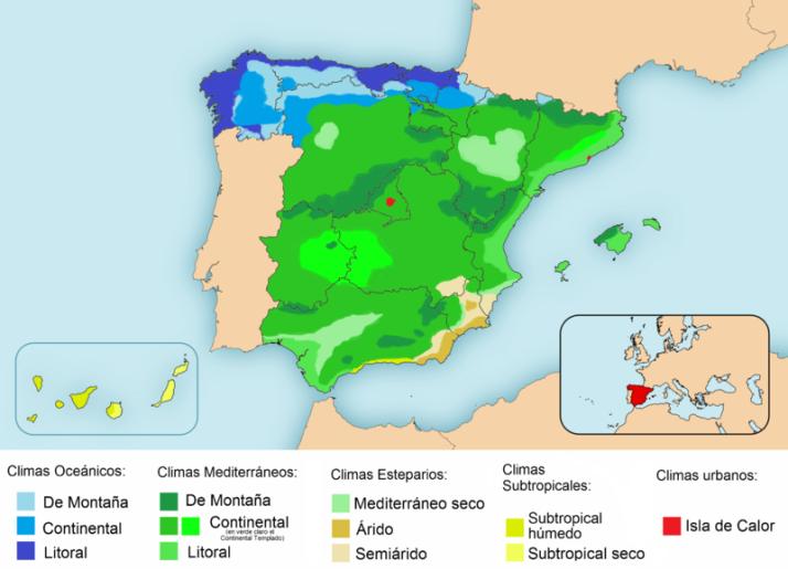 Climatico-de-España